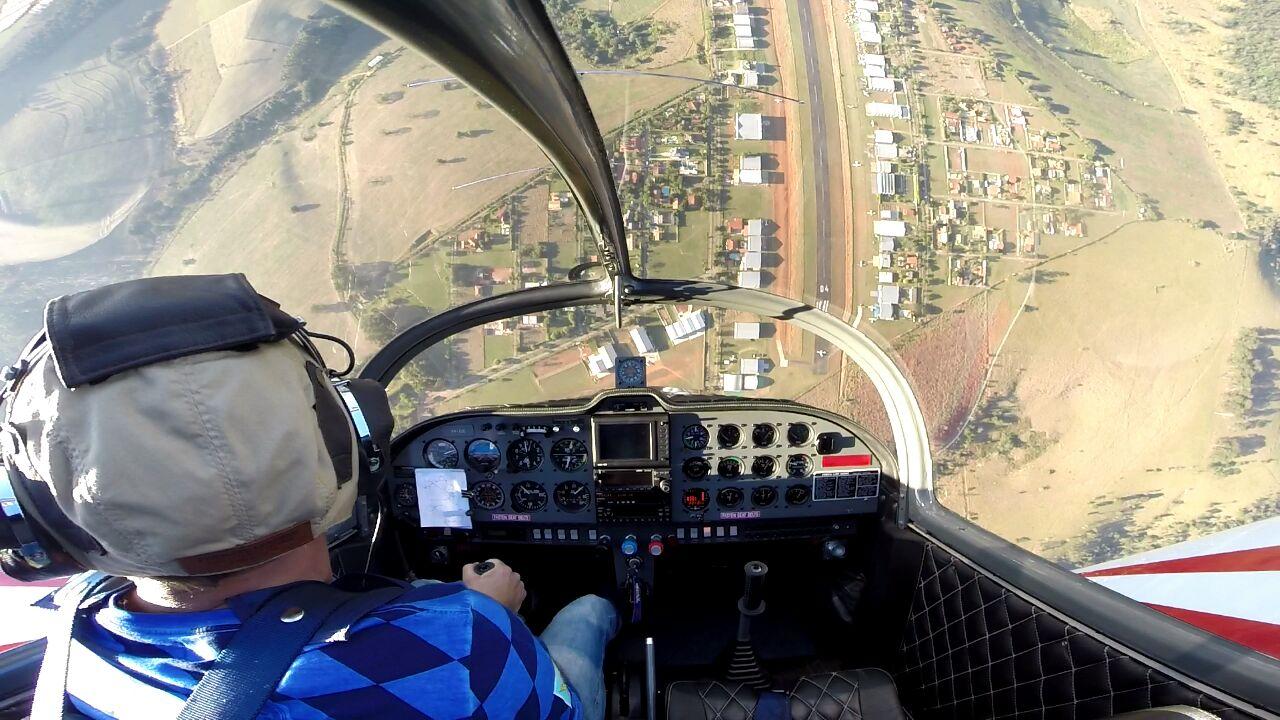Encontro de Aviação em Vale Eldorado