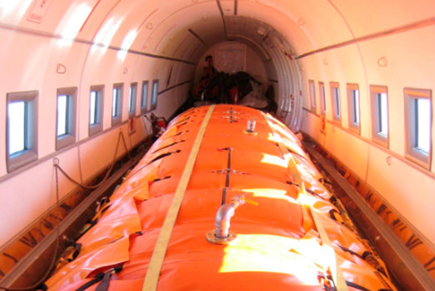 Conversão e aprovação de aeronaves para transporte de Carga