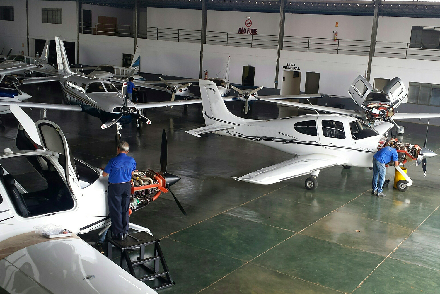 Certificação de Oficinas junto ao FAA