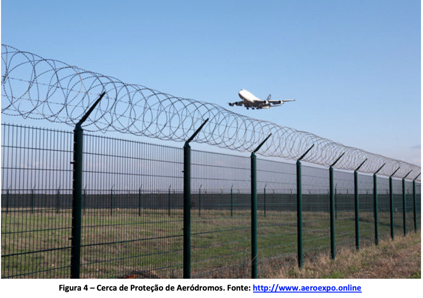 Cerca de Proteção de Aeródromo