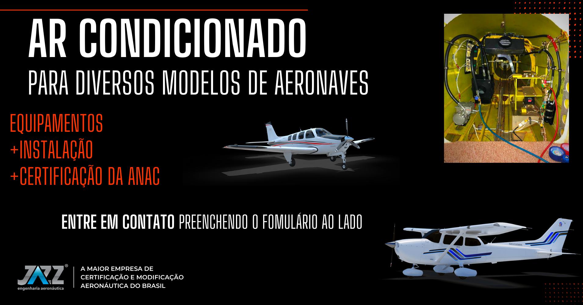Ar Condicionado Para Aeronave