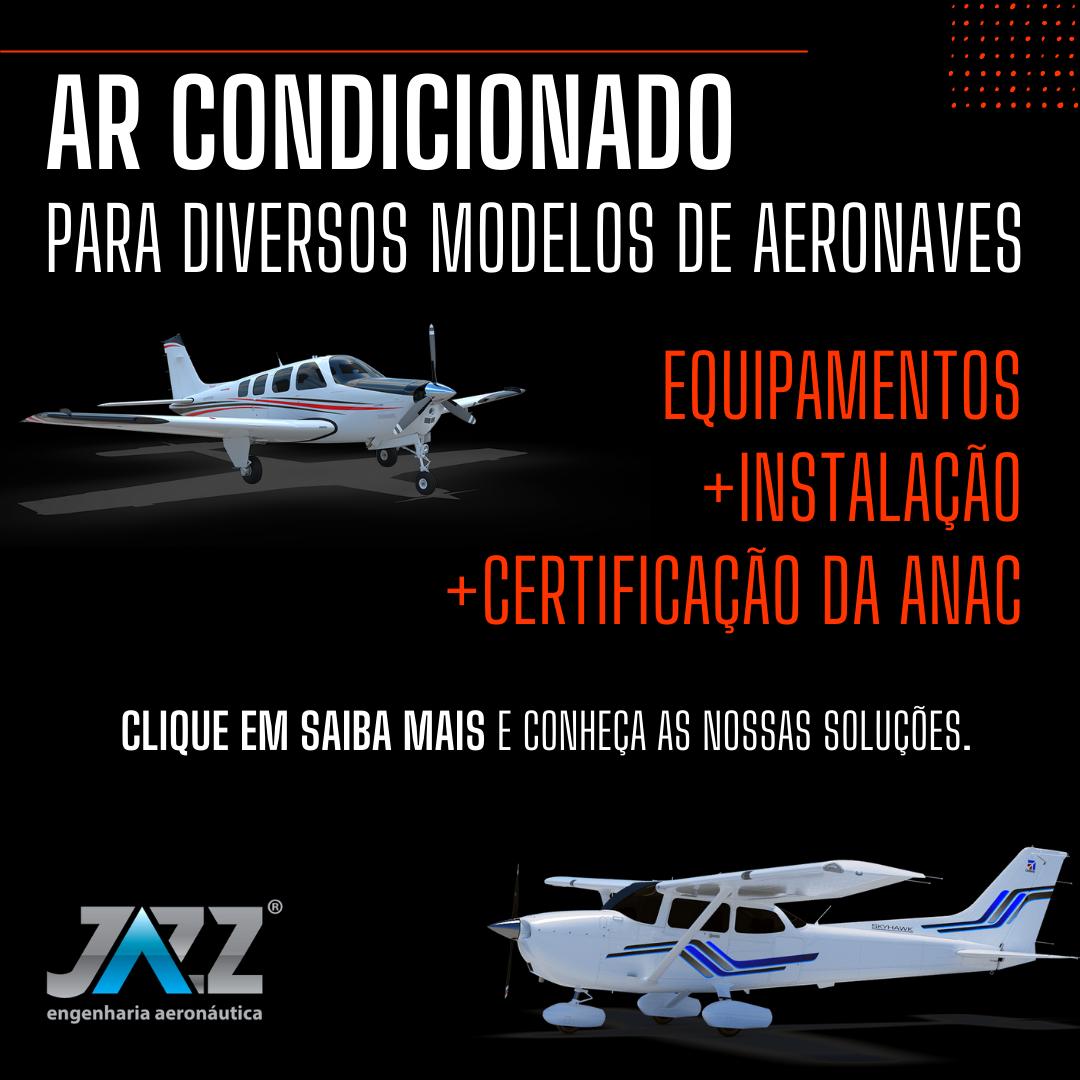 Instale um Ar Condicionado na sua Aeronave